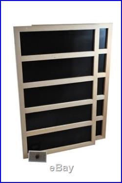 Infrared Sauna Heater Package with Mechanical Timer 600 WATT-120VAC