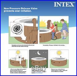 Intex 120 Bubble Jets 4 Person Octagonal PureSpa