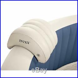 Intex 28405E PureSpa 4 Person Home Inflatable Portable Heated Bubble Hot Tub