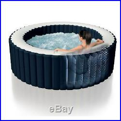 Intex 28405E Pure Spa 4-Person Inflatable Heated Hot Tub With Soft Foam Headrest