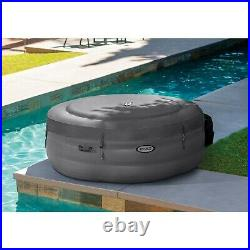 Intex 28481E SimpleSpa 4 Person Inflatable Portable Hot Tub with Pump & Cover