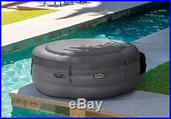 Intex 28482 Pool Hydro Massage Simple Spa cm 196x66 with Pump Filter Warmer