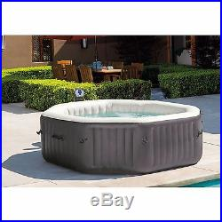 Intex 6-Person Octagon PureSpa with 140 Bubble Jets Hot Tub Jacuzzi NEW IN BOX