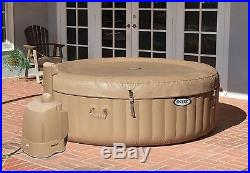 Intex 77in Inflatable Portable Yard Hot Tub Jacuzzi Spa PureSpa Bubble Massage
