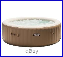 Intex Inflatable Pure Spa 6-Person Portable Heated Bubble Jet Hot Tub 28407E