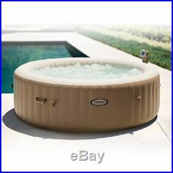 ==Intex Inflatable Pure Spa 6-Person Portable Heated Bubble Jet Hot Tub 28407E