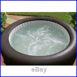 Intex Portable Hot Tub Massage Spa Jacuzzi Bubble Jet Set with4 High-Powered Jets