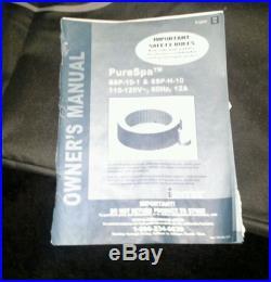 Intex Portable Hot Tub PureSpa SSP-H-10