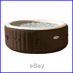 Intex PureSpa 4-Person Inflatable Bubble Jet Spa Heated Hot Tub (Open Box)