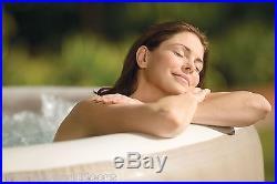 Intex PureSpa 4 Person Inflatable Portable Heated Bubble Spa Hot Tub 28403E