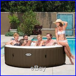 Intex PureSpa 6 Person Inflatable Spa Portable Hot Tub with Filters & Accessories
