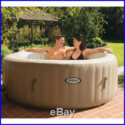 Intex PureSpa Bubble Hot Tub Spa Outdoors Pool Garden Patio Backyard Seats 4