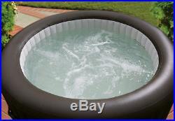 Intex PureSpa Deluxe Jet Massage Inflatable Spa Hot Tub Set Model 28423E