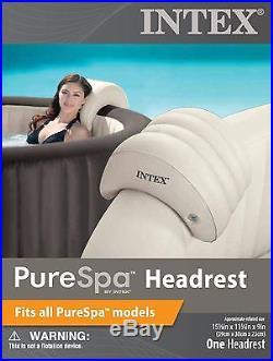Intex PureSpa Inflatable Headrest Model 28501E fits all Intex Spa Models