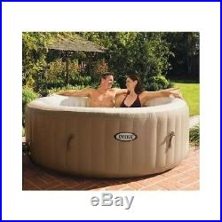 Intex PureSpa Portable Bubble Massage Tub Inflable Jacuzzi Purespa Patio Therapy