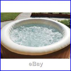 Intex Pure Spa 4-Person Inflatable Portable Heated Bubble Hot Tub 28403E (Used)