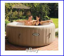 Intex Pure Spa 4-Person Inflatable Portable Heated Bubble Hot Tub New