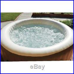 Intex Pure Spa 4-Person Inflatable Portable Heated Bubble Hot Tub (Open Box)
