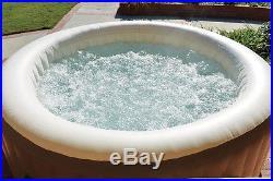 Intex Pure Spa 4-Person Inflatable Portable Heated Bubble Hot Tub Open Box