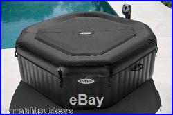 Intex Pure Spa 4-Person Inflatable Portable Jet & Bubble Massage Hot Tub 28453E
