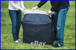 Intex Pure Spa 4-Person Inflatable Portable Octagon Heated Bubble Hot Tub28413E