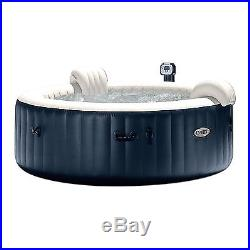 Intex Pure Spa 6-Person Inflatable Portable Heated Bubble Hot Tub 28409E