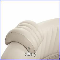 Intex Pure Spa 6 Person Inflatable Portable Outdoor Bubble Jets Hot Tub 28409E