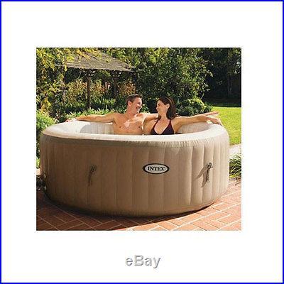 Intex Pure Spa Bubble Therapy Portable Inflatable Spa Hot Tub 28403E