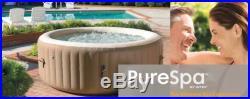 Intex Pure Spa Inflatable Portable Heated Bubble Hot Tub 28403E Certificate
