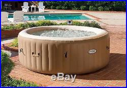 Intex Purespa Bubble Therapy Inflatable Portable Massage Jacuzzi Hot Tub Spa New