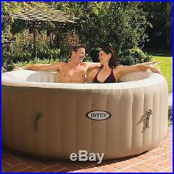 Intex Purespa Portable Bubble Massage Spa Set Hot Tub Inflatable Air Jacuzzi