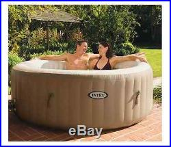 Jacuzzi Inflatable Portable Tub Spa Hot 4 Person Heated Bubble Jet Massage Intex