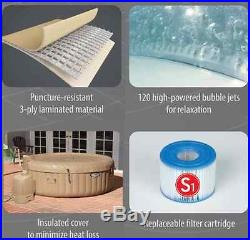 Jacuzzi Intex PureSpa Portable Bubble Massage Spa Hot Tub Therapy