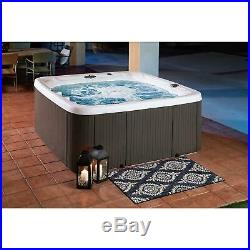 Jacuzzi Spas 7 Persona Big Lifesmart Spa 90 Jet Hot Tub 230 Volt With Cover NICE
