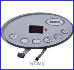 Jacuzzi Spas Topside Panel, 2-Pump 2007+ LED (2007+ J-300 Series) 2600-328