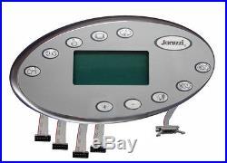 Jacuzzi Spas Topside Panel J-400 2-Pump 60hz (2006+ J-400 Series) 20318-001