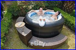 Jilong Avenli 4 Person Spa Prolong Deluxe Inflatable Hot Tub