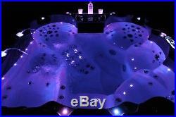 KING-SPA Whirlpool Hot Tub Outdoor/Indoor Whirlpools NEU, W-230S, W-Lan, Balboa, 6P