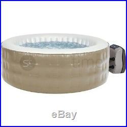 LIVIVO 2-4 Person Inflatable Hot Tub Spa Airjet Massaging Jacuzzi Spa Digital UK
