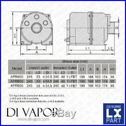 LX APR900 V1 Air Blower Pump 1.2 HP (With Heater) 900W + 180W Hot Tub Spa