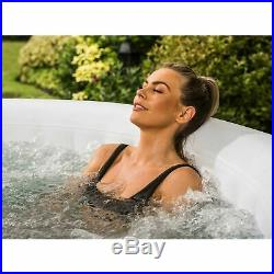 Large Cleverspa Hot Tub Jacuzzi Pool Spa 4 Persons Outdoor Indoor Swimming New
