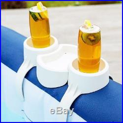 Lay-Z-Spa CUP HOLDER Clip On Drinks Bottle Snack Food Tray Hot Tub Jacuzzi Stand