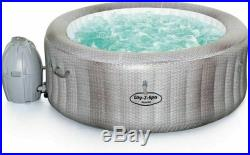 Lay-Z-Spa Cancun AirJet 4 Person Hot Tub BRAND NEW IN BOX READY TO Post