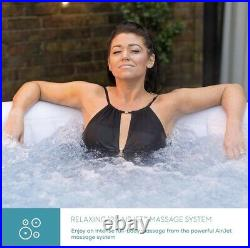 Lay-Z-Spa MIAMI 2-4 Person Hot Tub, 2021 Model BRAND NEW WITH NEXT DAY DELIVERY