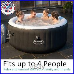Lay-Z-Spa Miami Hot Tub, AirJet Inflatable Spa, 2-4 Person Brand NEW