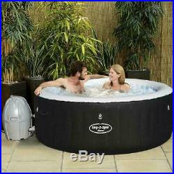 Lay-Z-Spa Miami Inflatable Hot Tub 2-4 person Spa Experience garden patio UK