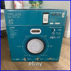 Lay-Z-Spa Milan 6 Person Hot Tub BRAND NEW FREE SHIPPING NEXT DAY