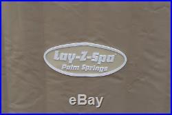 Lay-Z-Spa Palm Springs Whirlpool 196x71cm bis 6 Personen rund außen innen 54129