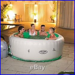 Lay-Z-Spa Paris Inflatable Hot Tub Relaxation Home and Garden New
