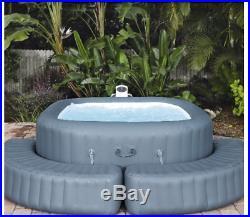 Lay-Z-Spa SQUARE Surround Bench Inflatable Maldives Ibiza Hawaii Hot Tub BNIB